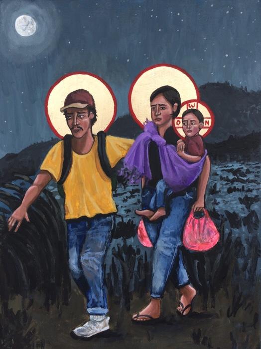 Refugees: La Sagrada Familia